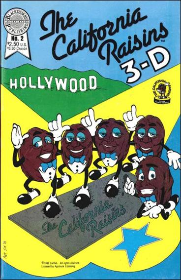 California Raisins in 3-D 2-A by Blackthorne