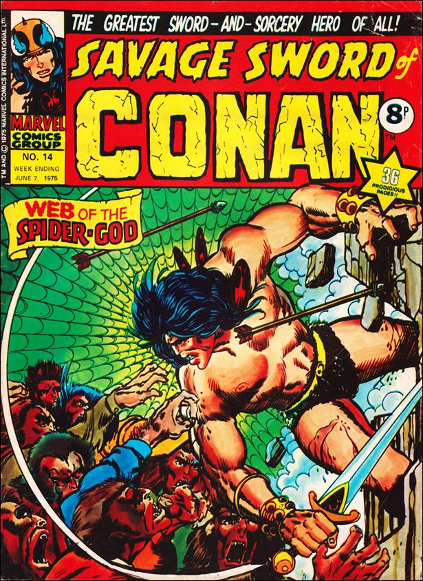 Savage Sword of Conan (UK) (1975) 14-A by Marvel UK
