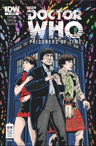 Doctor Who: Prisoners Of Time  2-B by IDW