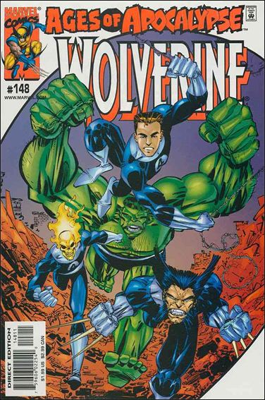 Wolverine (1988)  148-A by Marvel