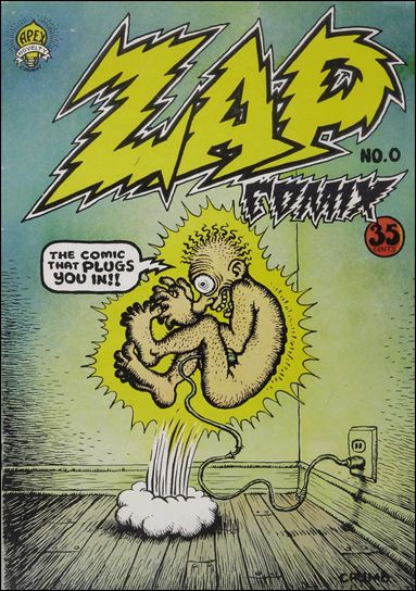 Zap Comix 0-A by Last Gasp