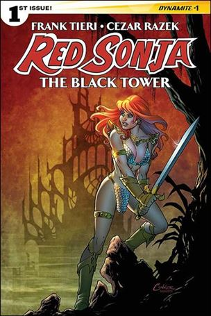 Red Sonja: The Black Tower 1-A