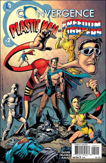 Convergence Plastic Man and the Freedom Fighters 2-A by DC