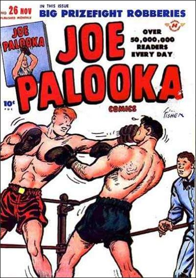 Joe Palooka (1945) 26-A by Harvey