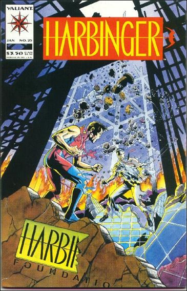 Harbinger (1992) 25-A by Valiant