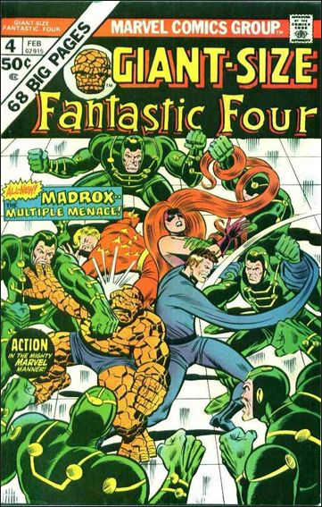 Giant-Size Fantastic Four 4-A by Marvel