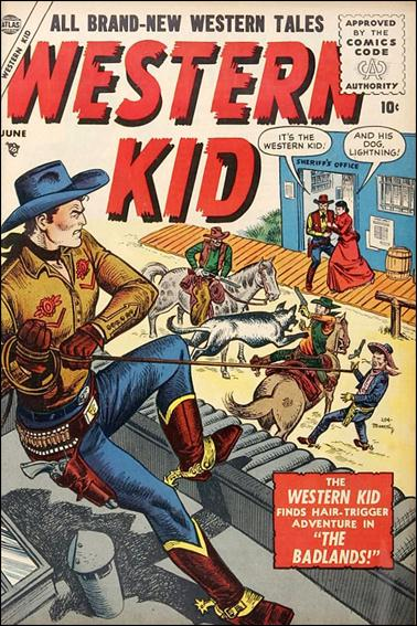 Western Kid (1954) 4-A by Atlas