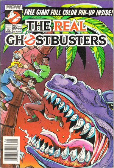 Real Ghostbusters (1988) 20-A by Now Comics