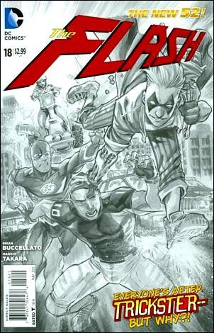 Flash (2011) 18-B by DC