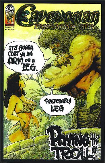 Cavewoman Pangaean Sea 10 C Oct 2007 Comic Book By Amryl