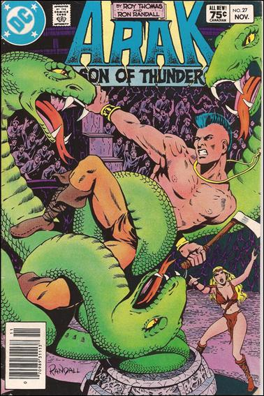 Arak Son of Thunder 27-B by DC