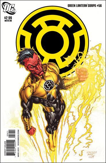 Green Lantern Corps (2006) 56-A by DC