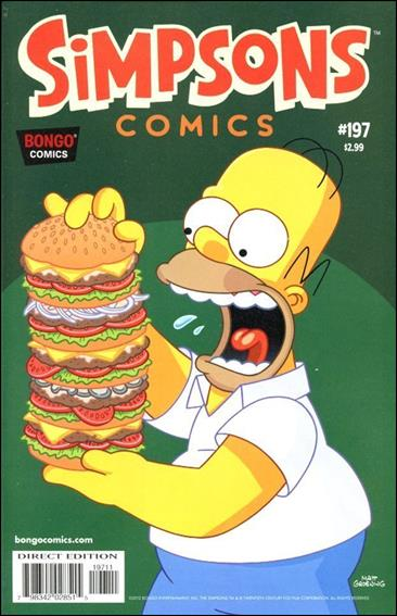 Simpsons Comics 197-A by Bongo
