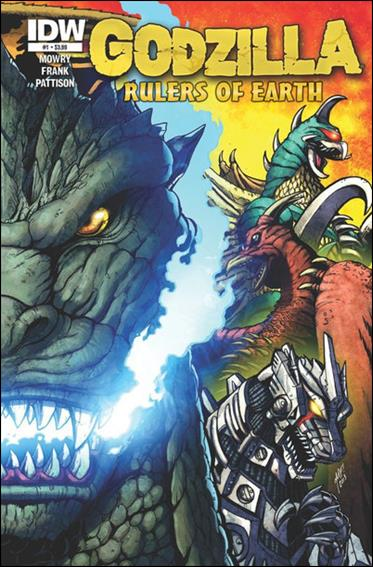 Godzilla: Rulers of the Earth 1-A by IDW