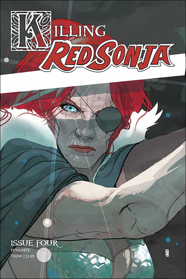 Killing Red Sonja 4-A by Dynamite Entertainment