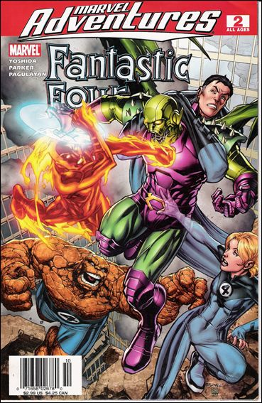 Marvel Adventures Fantastic Four 2-B by Marvel