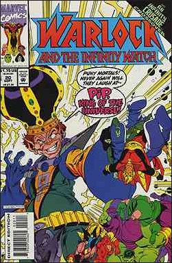 Warlock and the Infinity Watch 20-A by Marvel