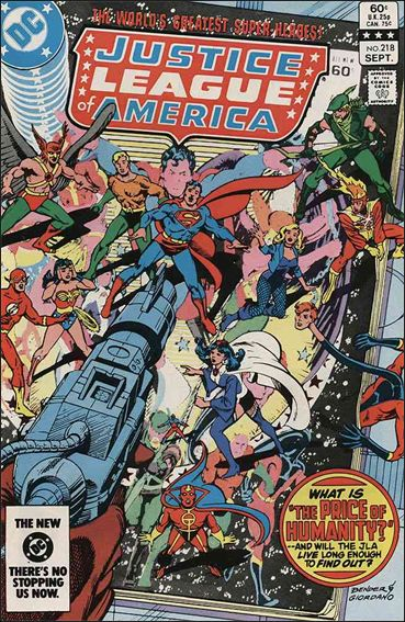 Justice League of America (1960) 218-A by DC