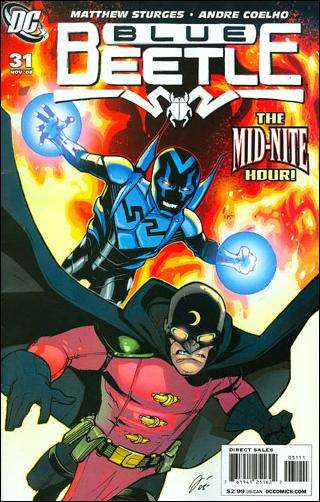 Blue Beetle (2006) 31-A by DC