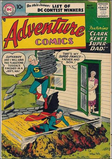 Adventure Comics (1938) 236-A by DC