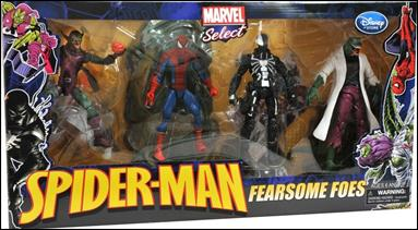 Marvel Select (Box Sets) Spider-Man: Fearsome Foes 4-Pack by Diamond Select
