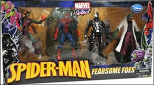 Marvel Select (Box Sets) Spider-Man: Fearsome Foes 4-Pack