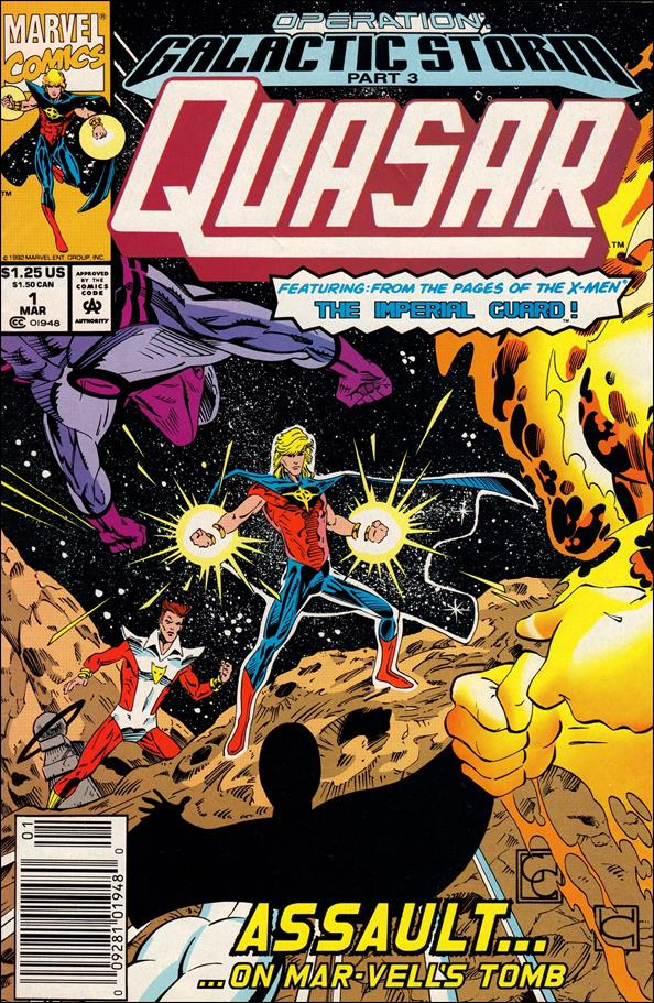 Quasar 32-B by Marvel