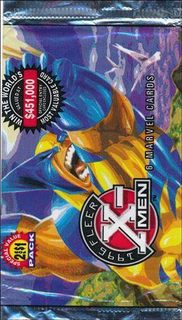 1996 Fleer X-Men Wal-Mart 2-B