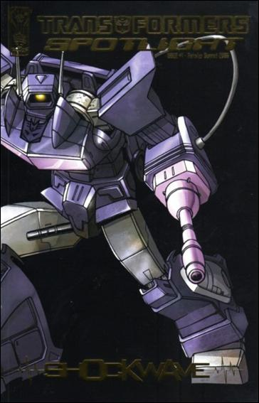 Transformers Spotlight 1-E by IDW