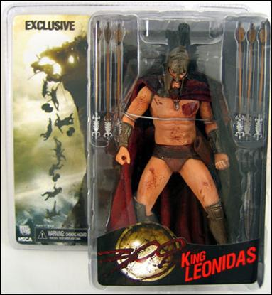 300 (Exclusives) Bloody King Leonidas by NECA