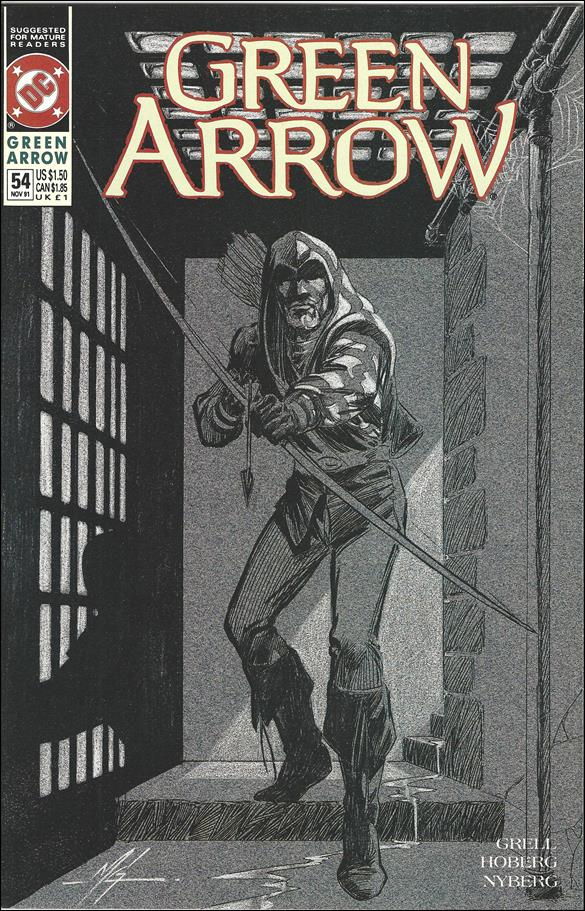 Green Arrow (1988) 54-A by DC