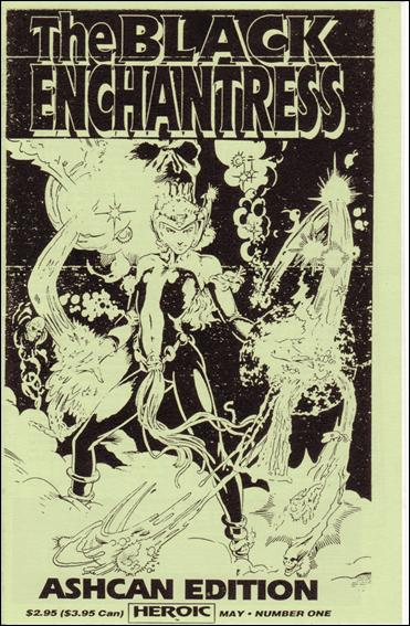 Black Enchantress Ashcan-A by Heroic Publishing