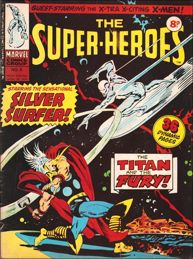 Super-Heroes (UK) 8-A by Marvel UK