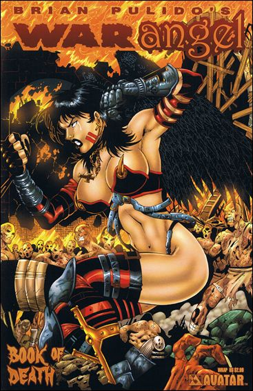 Brian Pulido's War Angel: Book of Death 1-B by Avatar Press