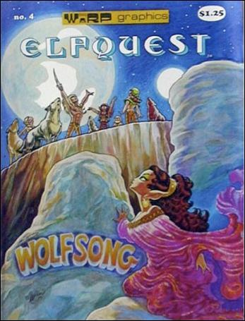 ElfQuest (1978) 4-B by Warp Graphics