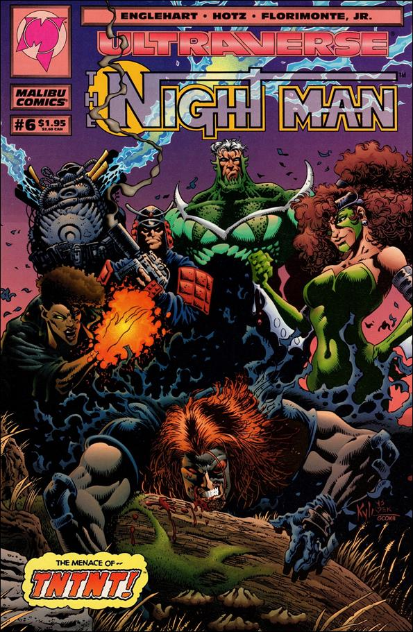 Night Man (1993) 6-A by Malibu