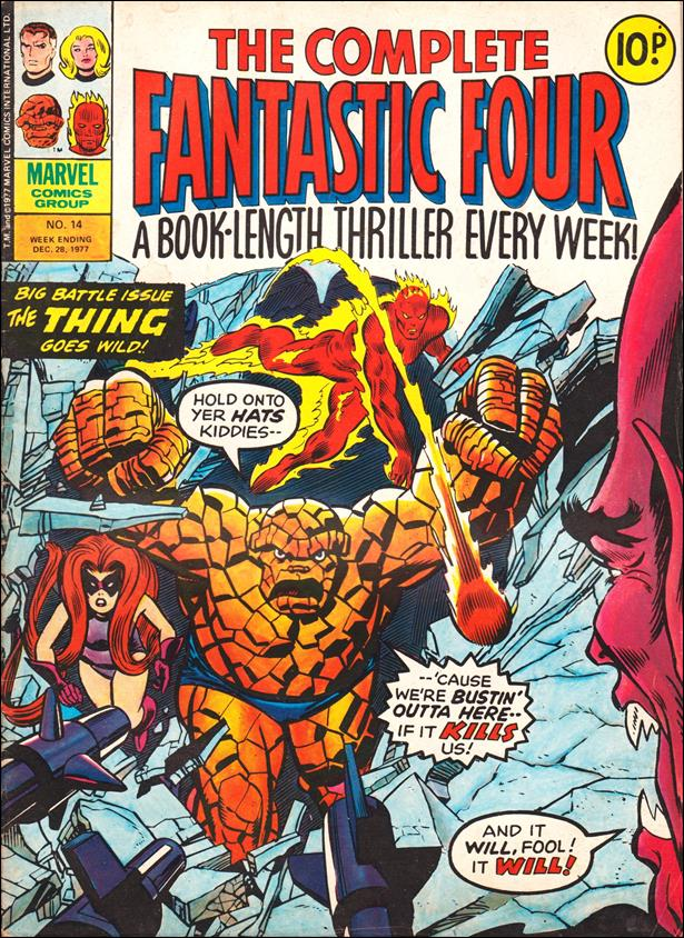 Complete Fantastic Four (UK) 14-A by Marvel UK