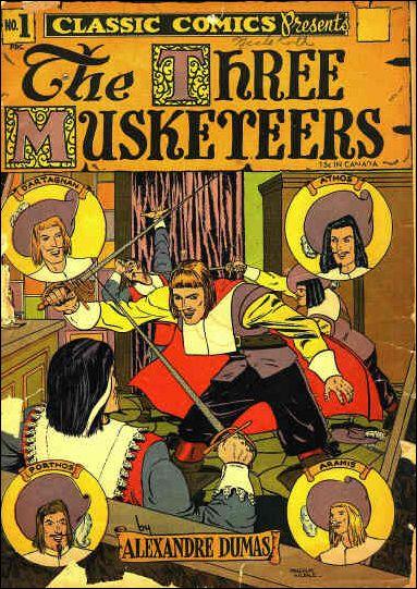 Classic Comics/Classics Illustrated 1-C by Gilberton