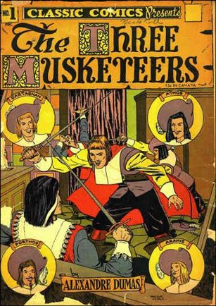 Classic Comics/Classics Illustrated 1-C