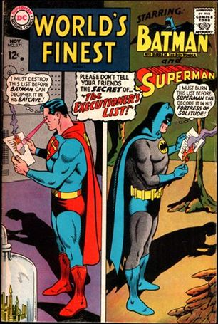 World's Finest Comics 171-A