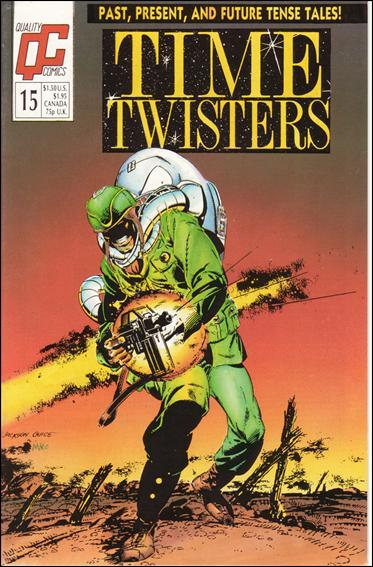 Time Twisters 15-A by Quality Comics