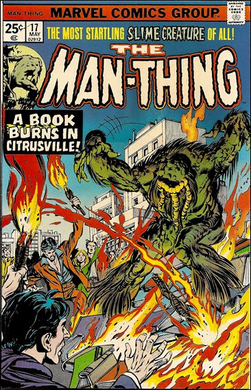 Man-Thing (1974) 17-A by Marvel