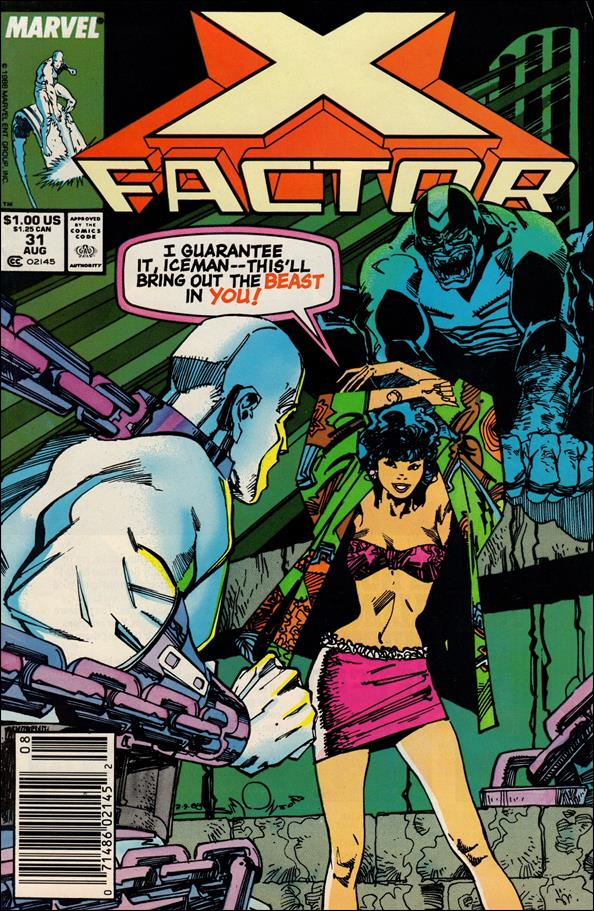 X-Factor (1986) 31-A by Marvel