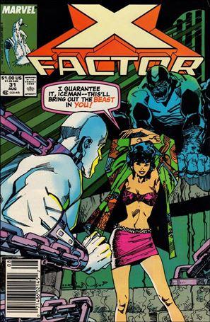 X-Factor (1986) 31-A