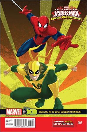 Marvel Universe Ultimate Spider-Man: Web Warriors 5-A