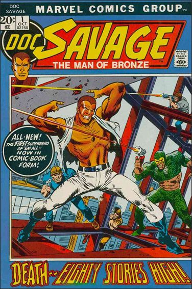 Doc Savage (1972) 1-A by Marvel