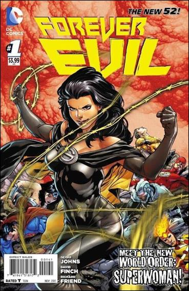 Forever Evil 1-E by DC