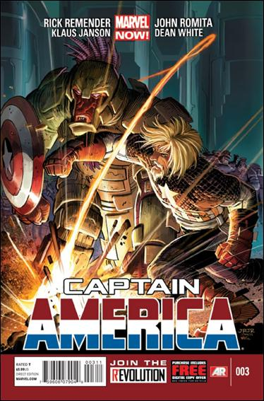 Captain America (2013) 3-A by Marvel