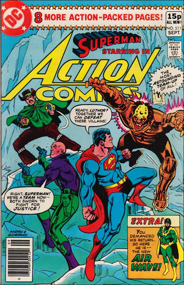 Action Comics (1938) 511-B by DC