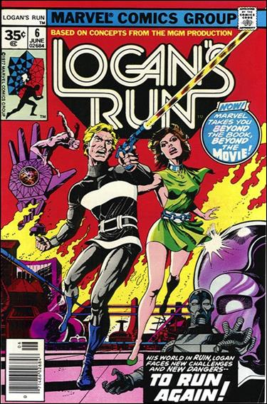 Logan's Run (1977) 6-B by Marvel